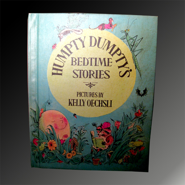 Vintage 1971 Humpty Dumpty's Bedtime Stories - FREE SHIPPING!