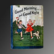 Good Morning and Good Night Vintage Reader