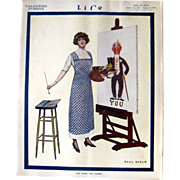 Life Magazine February 12 1914 Paul Goold Cover