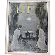 SOLD Vintage Life Magazine C. M. Relyea Cover September 7 1905 / Turn of The Century Magazine