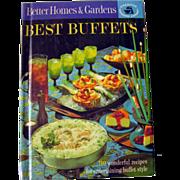 Better Homes and Gardens Best Buffets Vintage Book / Vintage Cookbook / Vintage Entertaining /