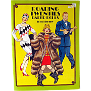 Roaring Twenties Paper Dolls by Tom Tierney Dover Publishing / Flapper Fashion / Gift Book / Art Deco / 1920s