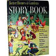 Better Homes And Gardens Story Book 1950 / Little Black Sambo / Illustrated Childrens Book / .