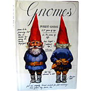 Gnomes Book Signed by Illustrator and Author / Will Huygen / Rien Poortvliet / Leven en werken