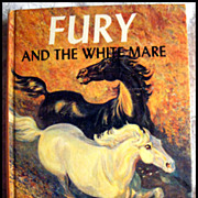 Fury And The White Mare -- Vintage Book Based on 60's Television Series