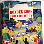 SALE The Wonder Book For Children -- Vintage Children's Book