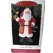 Merry Olde Santa Hallmark Keepsake Ornament Collectors Edition Number 3 / Christmas Ornament /
