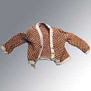 Vintage KEN Doll #1408 Fashion Fraternity  Meeting Cardigan Sweater 1963