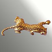Pouncing Leopard Pin