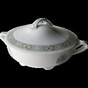 Rosenthal Donatello Art Nouveau Design Casserole / Vintage Home Decor / Serving Dish / Vintage China / Bavarian China