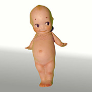 """Rose O'Neill Kewpie Doll - Germany - Bisque - 5 1/4"""""""