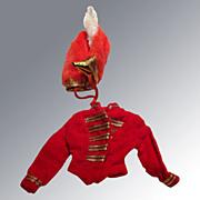 Barbie Outfit Drum Majorette #875 (1964-1965) Coat and Hat