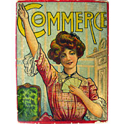 Antique Game The Game Of Commerce 1900s Card Game By J Ottmann Lotho Company In ...