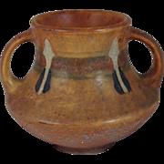 Roseville Montacello Vase Arts Crafts Mission Style Pottery Jar Handle 555