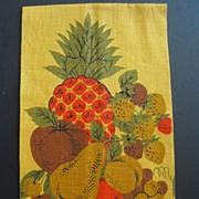 Vintage Linen Tea or Dish Towel
