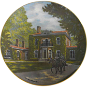 REDUCED Gorham Collector Plate: Southern Landmark Series