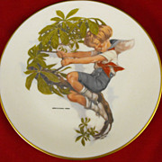 REDUCED Collector Plate: Royal Devon: Children Series: Weber
