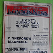 REDUCED The Illustrated London News July 22, 1916