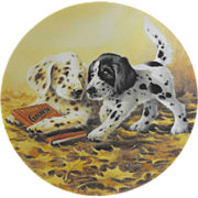 REDUCED Knowles: Field Trips by Artist Lynn Kaatz : Puppy Tales 1991