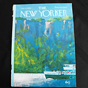 The New Yorker Magazine Cover: July 12, 1969