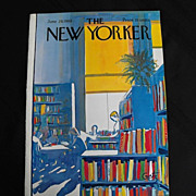 The New Yorker Magazine Cover: June 29, 1968