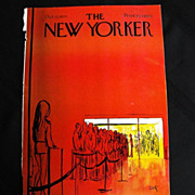 The New Yorker Magazine Cover:October 10,1970