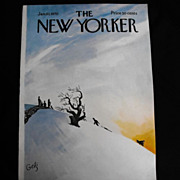 The New Yorker Magazine Cover:January 10, 1970