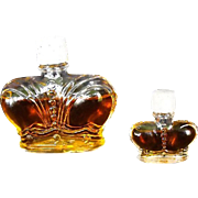 REDUCED Perfume Bottle Prince Matchabelli Stradivari   -Golden Jubilee Circa: 1976