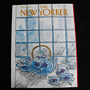 The New Yorker Magazine Cover: February 9, 1981