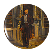 REDUCED Collector Plate: Gone With The Wind:  Rhett             Circa: 1981