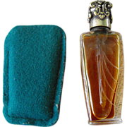 Perfume Mini Bottle (purse) French                  Circa: 1920s