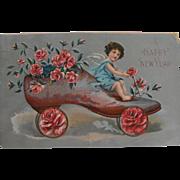 Postcard: New Year                                                    Circa: 1910