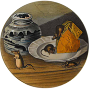 "Gorham Plate, The American Wildlife Heritage, ""House Mouse"""