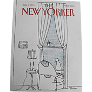 The New Yorker Magazine Cover, July 1, 1985