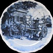 Dutch Delft collector plate