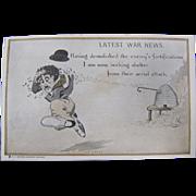 SOLD Latest War News Postcard