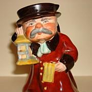 Vintage Tobby Jug Ye Olde Town Hall Night Watchman Wedgwood Co. Ltd. England