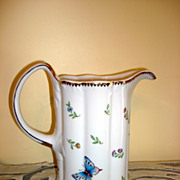 Butterflies-Ladybug-Dragonfly-Bees Pitcher By I. Godinger & Co.