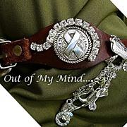 SOLD Stirrups Up ~ Out of My Mind Bracelet