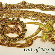 SOLD Glorious VI ~ Out of My Mind Charm Necklace