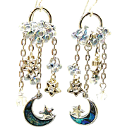 SOLD Under the Stars - Out of My Mind Earrings