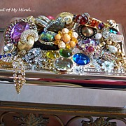 SOLD Inside Out ~ Collage Out of My Mind Jewelry Box