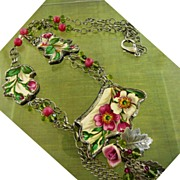 SOLD Montana Rose ~ Out of My Mind Necklace