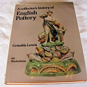 "Book:  ""A collector's history of English Pottery"", by Griselda Lewis"