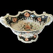 Grainger's Worcester Porcelain Centerpiece, English Imari, Antique c 1825