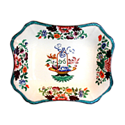 Wedgwood Dessert Dish,  Pearlware Chinoiserie,  Antique Early 19th C