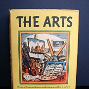 """SOLD Book: """"The Arts"""", written & illustrated by Hendrik Willem Van Loon - Red Ta"""