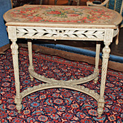 Louis XVI Painted Table