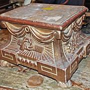 18th Century Italian Gilt Pedestal