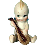 Kewpie with Mandolin
